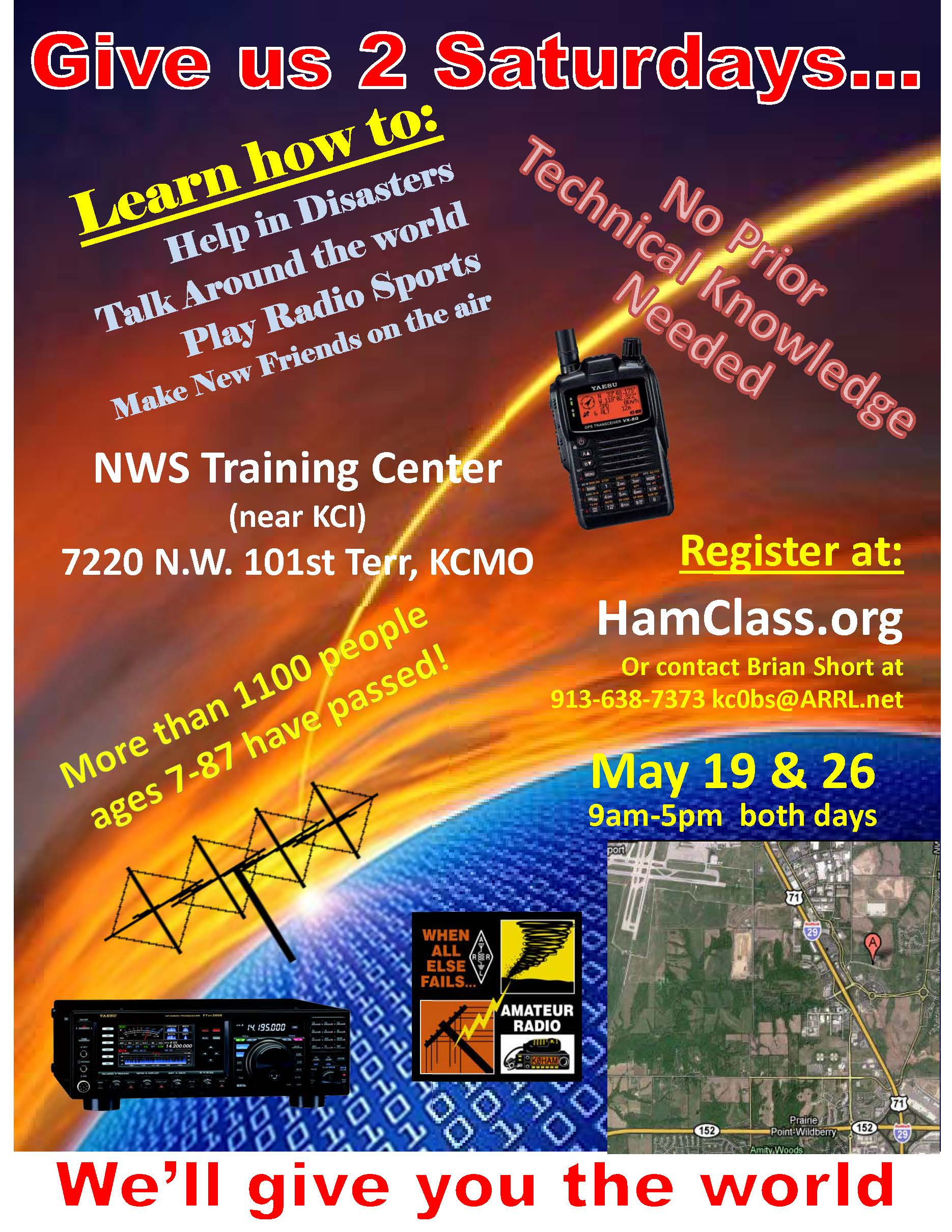 May 19 & 26 NWS Training Center near KCI